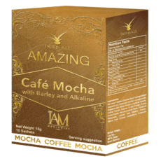 Amazing Cafe Mocha with Barley and Alkaline